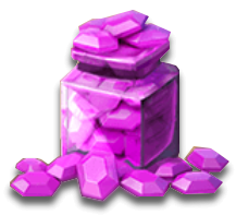 Amount of gems